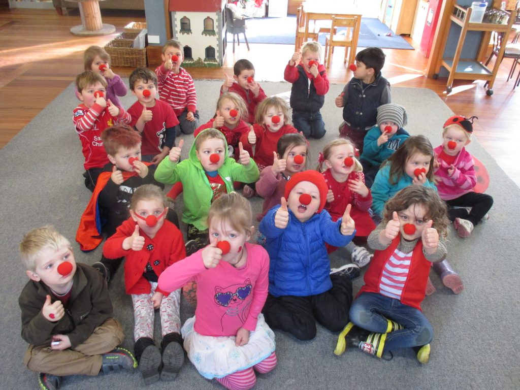 Craighead Kindergarten in Timaru say their red noses are flying out the door