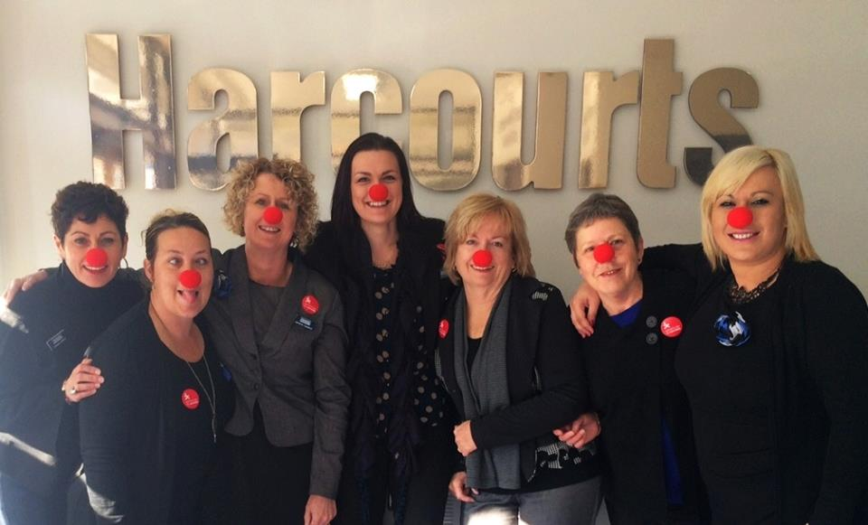 Harcourts Thames with their red noses